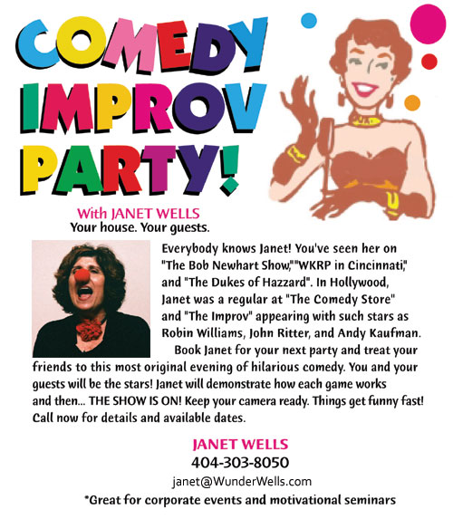 Comedy Improv Parties